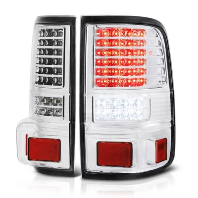 04-08 Ford F150 Pickup Chrome G2 Full LED Tail Lights