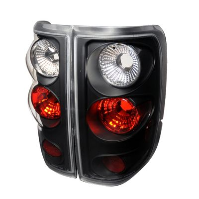 04-08 Ford F150 Pickup Euro Altezza Tail Lights - Black
