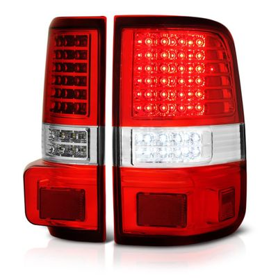 04-08 Ford F150 Pickup Red G2 Full LED Tail Lights