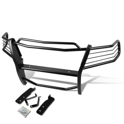 04-08 Ford F150 Pickup Truck Front Bumper Protector Brush Grille Guard (Black)