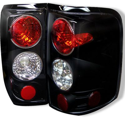 04-08 Ford F150 Styleside Altezza Tail Lights - Black ALT-YD-FF15004-BK By Spyder
