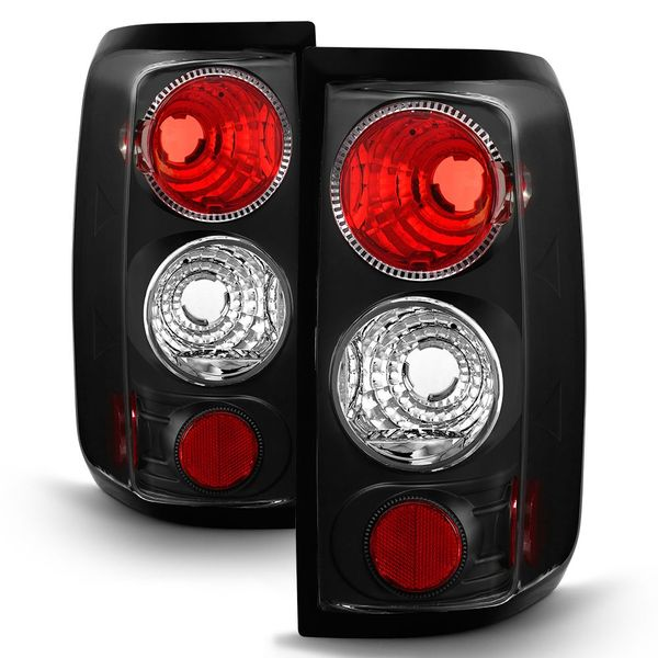 04-08 Ford F150 Styleside Altezza Tail Lights - Black