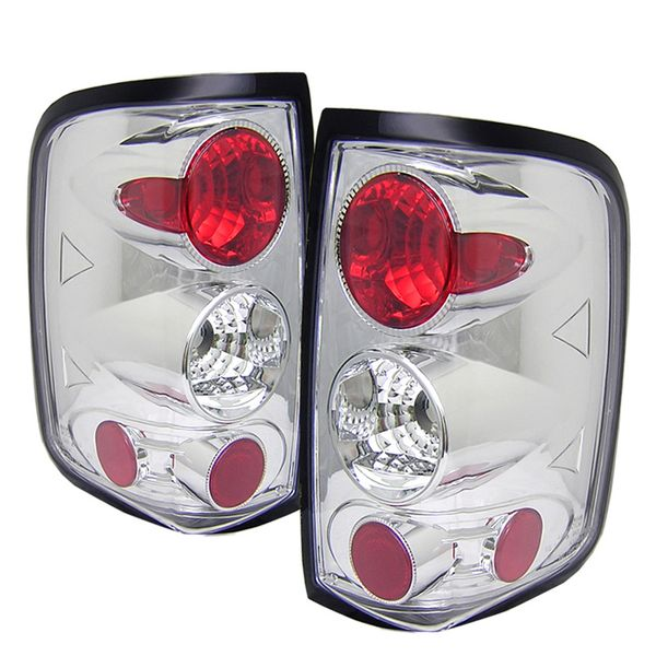 04-08 Ford F150 Styleside Altezza Tail Lights - Chrome