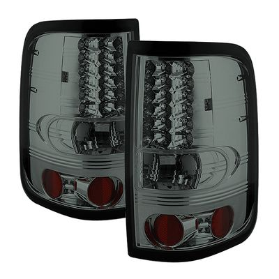 04-08 Ford F150 Styleside Euro LED Tail Lights - Smoked ALT-YD-FF15004-LED-SM By Spyder