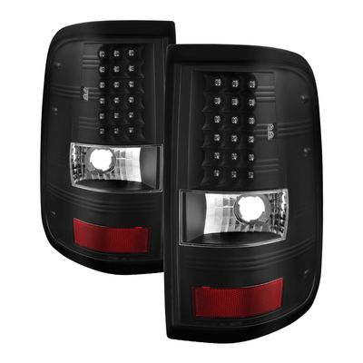 04-08 Ford F150 Styleside (Not Fit Heritage & SVT) LED Tail Lights - Black
