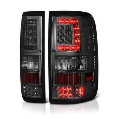 04-08 Ford F150 (Styleside) V2 C-Shaped LED Tail Lights - Smoked