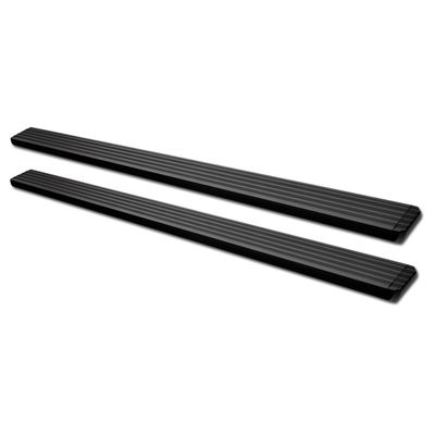 "04-08 Ford F150 Super/Ext Cab 5"" Matte Black Aluminum Step Bar Rail Running Boards"