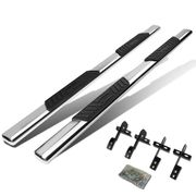 "04-08 Ford F150 Supercrew Cab / 06-08 Lincoln Mark LT 5"" Oval Side Step Nerf Bar Running Board (Polished)"