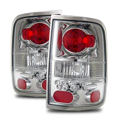04-08 Ford F150 F-150 Euro Style Altezza Tail Lights - Chrome