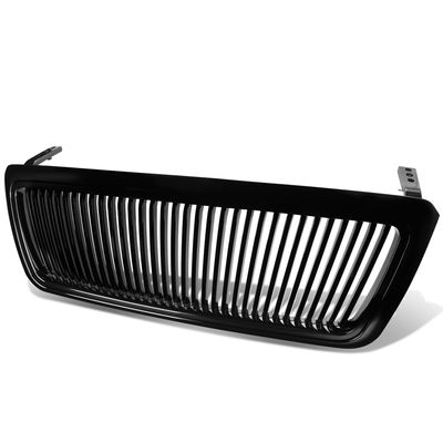 04-08 Ford F150 F-150 Front Bumper Vertical Black Grill Grille Guard