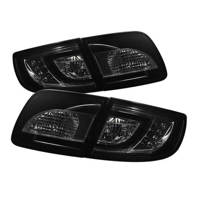 04-08 Mazda 3 Sedan Euro Style LED Tail Lights - Smoked ALT-YD-M303-LED-SM By Spyder