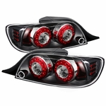 04-08 Mazda RX8 LED Ring-Style Tail Lights - Black