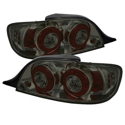 04-08 Mazda RX8 LED Ring-Style Tail Lights - Smoked