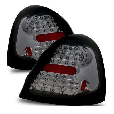 04-08 Pontiac Grand Prix Euro Style LED Tail Lights - Smoked