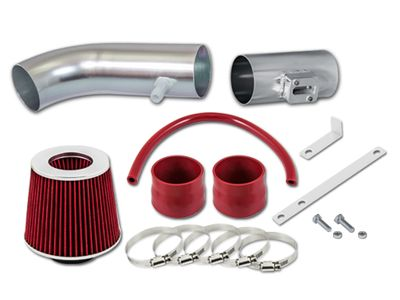 04-11 Ford Ranger 4.0L V6 Short Ram Air Intake Kit - Red