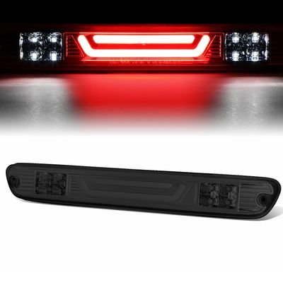 04-12 Chevy Colorado / GMC Canyon 3D LED Bar 3rd Third Brake Light Rear Cargo Lamp (Chrome / Smoked)