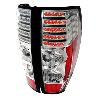 04-12 Chevy Colorado / GMC Canyon Euro Style LED Tail Lights - Chrome