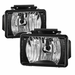 04-12 Chevy Colorado / GMC Canyon Pickup Front OE-Style Fog Lights - Black