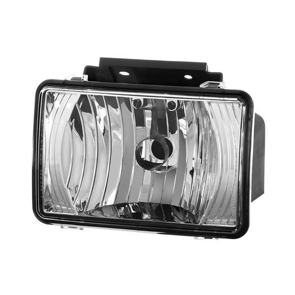 04-12 Chevy Colorado / GMC Canyon Pickup Front OE-Style Fog Lights - Silver