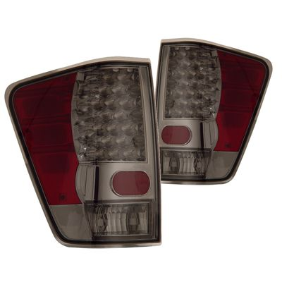 04-13 Nissan Titan SMD / LED Euro LED Tail Lights - Smoked