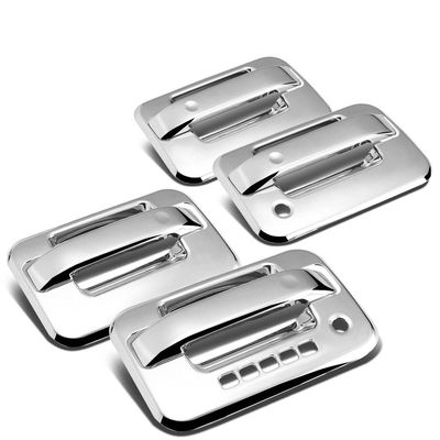 04-14 Ford F-150 4DR 4pcs Exterior Door Handle Cover with Coded Lock Chrome