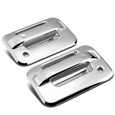 04-14 Ford F150 2DR Exterior Body Kit (Chrome Door Handle Cover w/Keyhole)