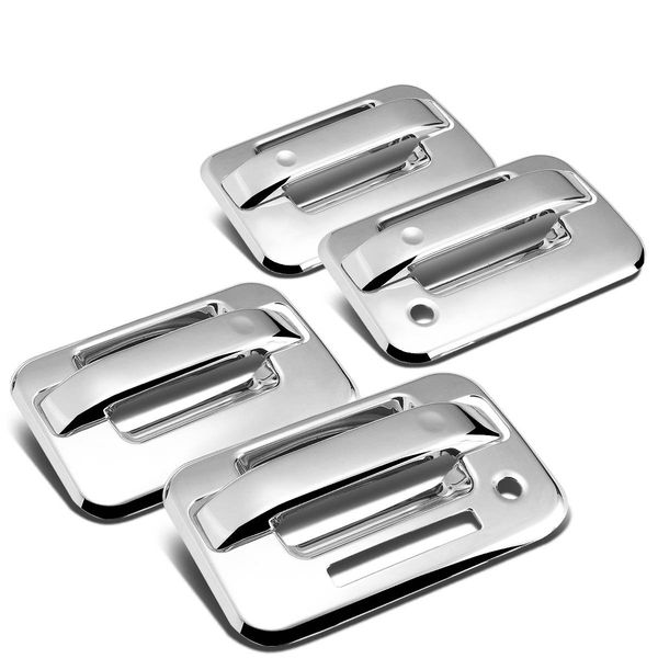 04-14 Ford F150 4DR 4-Door Exterior Body Kit (Chrome Door Handle Cover w/Keyhole & Pad)