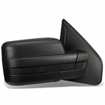 04-14 Ford F150 Black Textured Telescoping Manual Folding Side Towing Mirror (Right/Passenger)