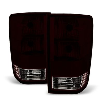 04-15 Nissan Titan OEM Style Replacement Tail Lights - Pair Smoked