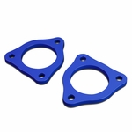 """04-17 Ford F-150 Pair of Blue Front 1/2"""" Heavy Duty Steel Leveling Lift Kit Spacers"""
