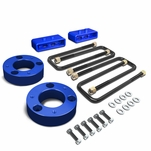 04-17 Ford F150 4WD Blue 2.5-inch Front + 1.5-inch Rear Complete Suspension Leveling Lift Kit