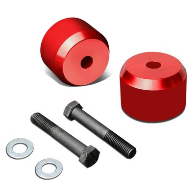 """04-17 Ford F150 Red 2-1/2"""" Front Coil Spring Mount Leveling Lift Kit"""