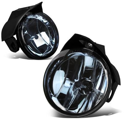 04 Chrysler Pacifica/ 01-06 Sebring / Dodge Stratus Pair of Bumper Driving Fog Lights (Smoked Lens)