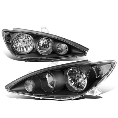 05-06 Toyota Camry XV30 OE-Style Replacement Headlights - Black / Clear