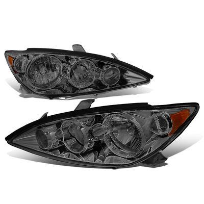 05-06 Toyota Camry XV30 OE-Style Replacement Headlights - Smoked / Amber