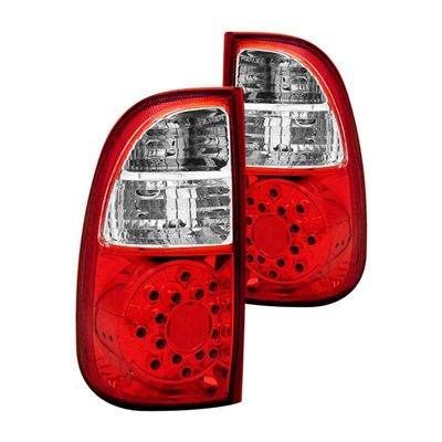 05-06 Toyota Tundra Basic Model / 05-06 Toyota Tundra Limited Access Cab LED Tail Lights - Red Clear