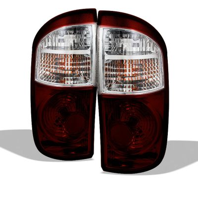 05-06 Toyota Tundra [Regular / Access Cab] OEM Style Replacement Tail Lights Pair - Smoked