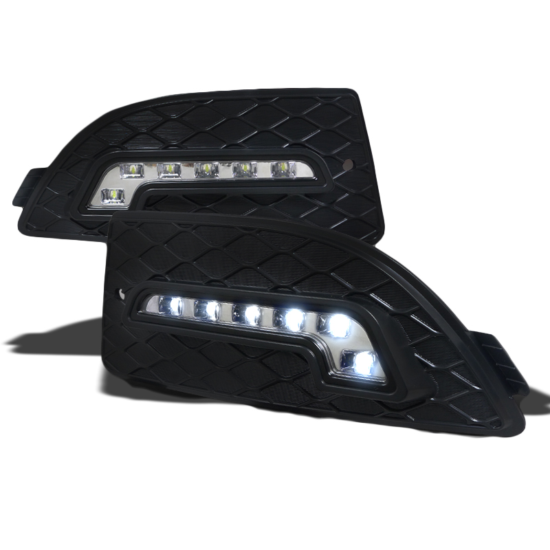 05-07 Acura RSX Front Bumper LED Day Time Driving Fog Lights