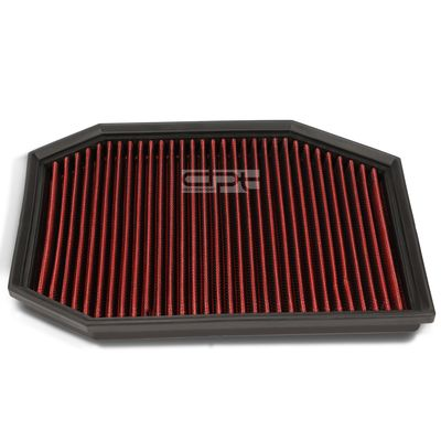 05-07 BMW 525i / 528i Reusable & Washable Replacement High Flow Drop-in Air Filter (Red)