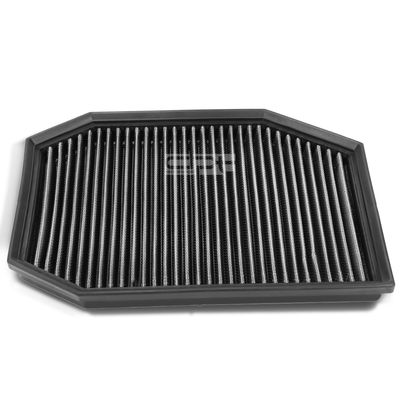 05-07 BMW 525i / 528i Reusable & Washable Replacement High Flow Drop-in Air Filter (Silver)
