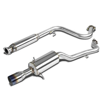 05-07 Chevy Cobalt 2.2L Stainless Steel Catback Exhaust System - Burnt Tip