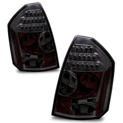 05-07 Chrysler 300 300C Euro Style LED Tail Lights - Smoked