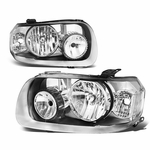 05-07 Ford Escape OE-Style Replacement Headlights  - Chrome / Clear