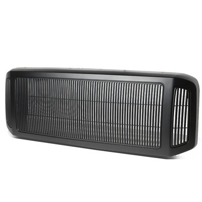05-07 Ford F250 F350 F450 F550 Super Duty ABS Billet Style Bumper Grille/Grill (Matte Black)