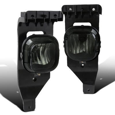 05-07 Ford F250 F350 [Super Duty] / Excursion Driving Bumper Fog Lights - Smoked Lens