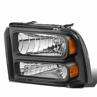 05-07 Ford F250 Super Duty Left OE Style Headlight Lamp Replacement FO2502217