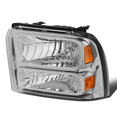 05-07 Ford Super Duty Left OE Style Headlight Lamp Replacement FO2502217