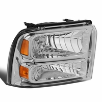 05-07 Ford Super Duty Right OE Style Headlight Lamp Replacement FO2503217