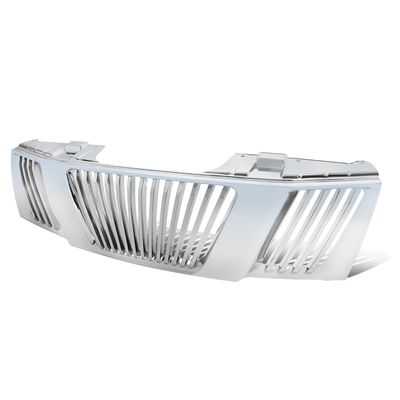 05-08 Nissan Frontier / 05-07 Pathfinder Vertical ABS Front Hood Grill - Chrome
