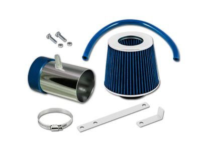 05-07 Jeep Grand Cherokee / Commander 3.7L V6 4.7L V8 Short Ram Air Intake Kit - Blue